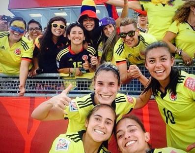 #OrgulloColombiano #SeleccionColombiaFemenina
