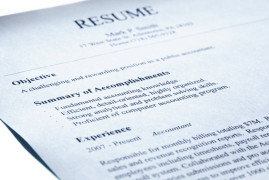 Resume templates for getting a job in Australia