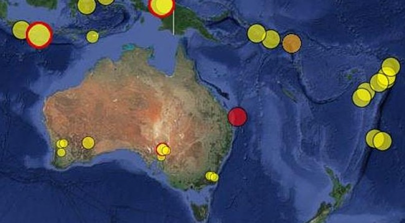 5.3 magnitude earthquake rocks Queensland — buildings shaken on the Gold Coast
