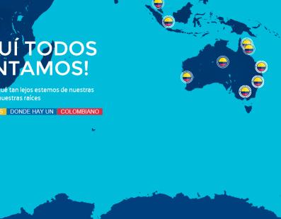 PRIMER CENSO DIGITAL DE COLOMBIANOS EN EL EXTERIOR