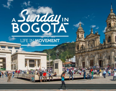 A Sunday in Bogotá (Life in movement)