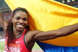 Caterine Ibargüen fue elegida como la mejor saltadora del mundo