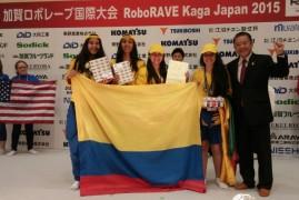 Colombia subcampeón en torneo de robótica en Japón con robot 'made in Colombia'