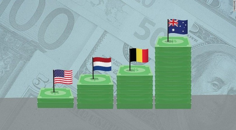 Estos países tienen mejores salarios que los de Estados Unidos