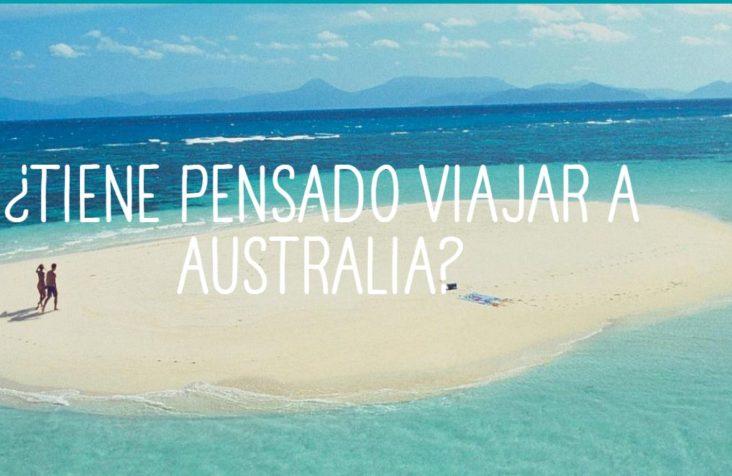¿PRIMERA VEZ EN AUSTRALIA? MANUAL DEL VIAJERO
